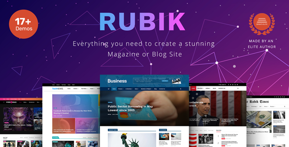 screenshot Doris – Creative WordPress Blog and Magazine Theme Nulled Free Download rubik